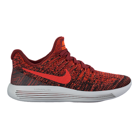 super popular b8221 51728 Nike Kids' Lunarepic Flyknit Grade School Shoes - Red ...