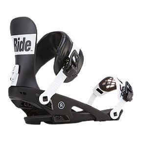 Ride Rodeo Men's Snowboard Bindings 2017/18 - Black/White
