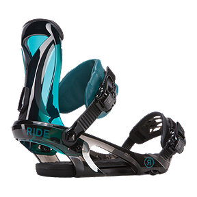 Ride KS Women's Snowboard Bindings 2017/18 - Black/Deep Teal