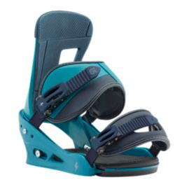 Burton Freestyle Men's Snowboard Bindings 2017/18 - Mariner Green