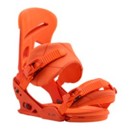 Burton Mission Men's Snowboard Bindings 2017/18 - Orange Sick Le