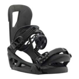 Burton Cartel EST Men's Snowboard Bindings 2017/18 - Matte Black