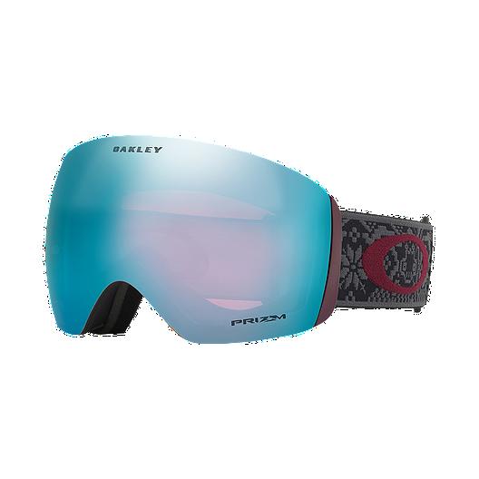12ef4e1f567 Oakley Flight Deck Matte Black Snow Goggles with Prizm Sapphire Iridium  Lens (ALT)