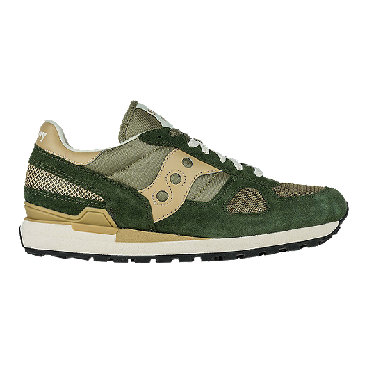 watch 21502 774f2 Saucony Men's Shadow Original Shoes - Taupe/Green | Sport Chek