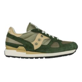 Saucony Men's Shadow Original Shoes - Taupe/Green