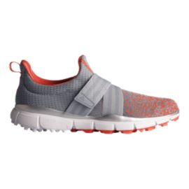 Adidas Golf Women's Climacool Knit Shoes - Silver/Coral