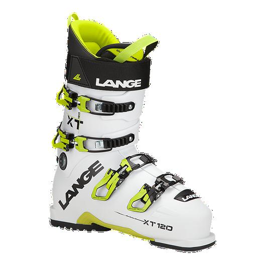 cc336e2f1a6bbb Lange XT 120 Men s Ski Boots 2017 18 - White Yellow