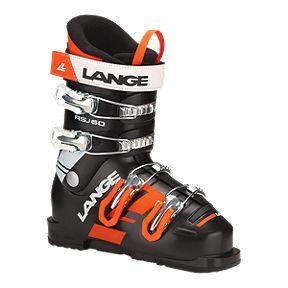 Lange RSJ 60 Junior Ski Boots 2017 18 - Black 9801f777e5c