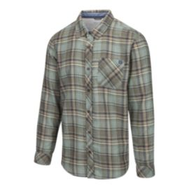 O'Neill Men's Shelter Flannel Shirt - Dusty Olive