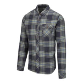 O'Neill Men's Watt Flannel Shirt - Fog Grey