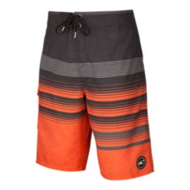 O'Neill Men's Lennox Boardshort - Neon Red