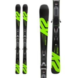 K2 iKonic 80Ti Men's Skis 2017/18 & Marker MXC 12TCX LT QKCLK Black/Green Ski Bindings