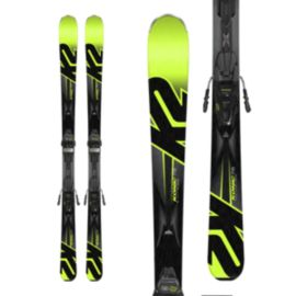 K2 Konic 78 Men's Skis 2017/18 & Marker M3 10 COMPACT Black/Yellow Ski Bindings