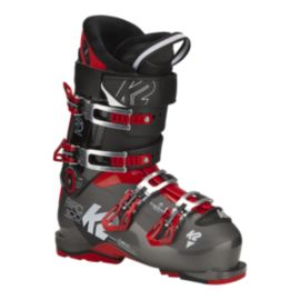 K2 BFC 100 Heat Men's Ski Boots 2017/18 - Black/Red