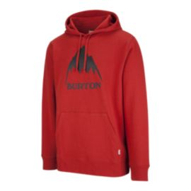 Burton Men's Classic Mountain High Pullover Hoodie - Bitters Red