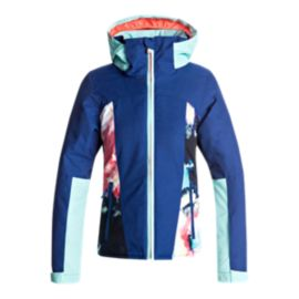 Roxy Girls' Sassy Girl Insulated Winter Jacket