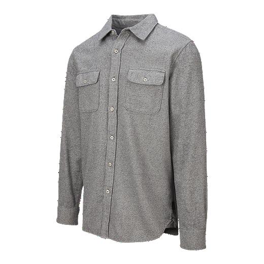 32a1addac The North Face Men's Arroyo Flannel Long Sleeve Shirt - TNF MEDIUM GREY  HEATHER