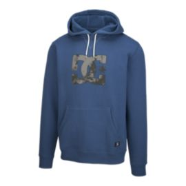 DC Men's Dropping Star Pullover Hoodie - Washed Indigo