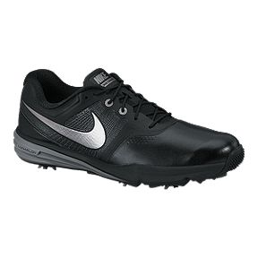 943ee96b0cb19 Nike Men s Lunar Command Wide Width Golf Shoes - Black