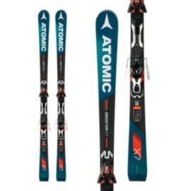 Atomic Redster X7 Men's Skis 2017/18 & Atomic XT 12 Men's Ski Bindings - Black/Orange