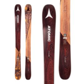 Atomic Backland Bent Chetler Mini Junior Alpine Skis 2017/18 & ATOMIC N L7 BLK/WHT 90MM JR BINDING