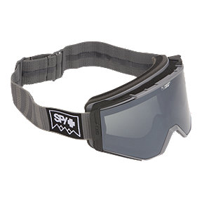 Spy Ace Ski & Snowboard Goggle 2017/18 - Deep Winter Gray with Happy Gray Green Silver Spectra Lens
