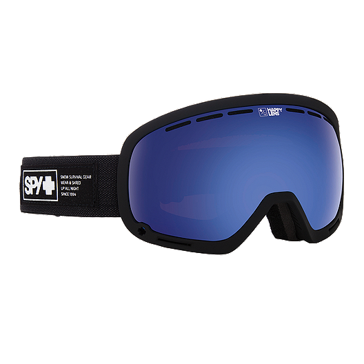 ad7d2d45dca Spy Marshall Ski   Snowboard Goggle 2017 18 - Nocturnal with Happy Rose  Lens