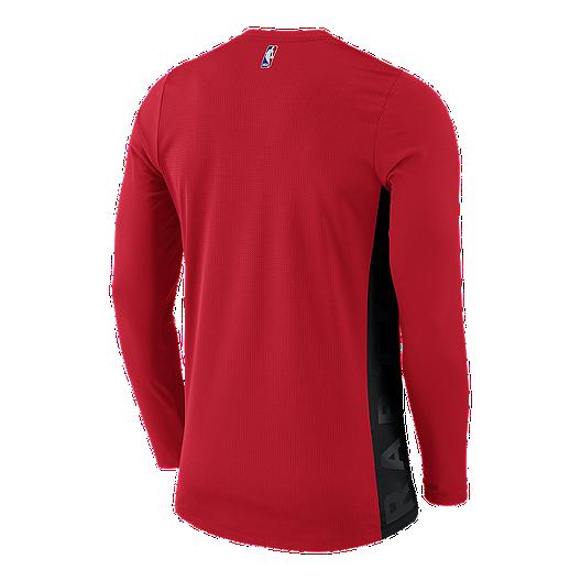 10a08302f6e6b Toronto Raptors Nike Hyperelite Shooter Long Sleeve Top | Sport Chek