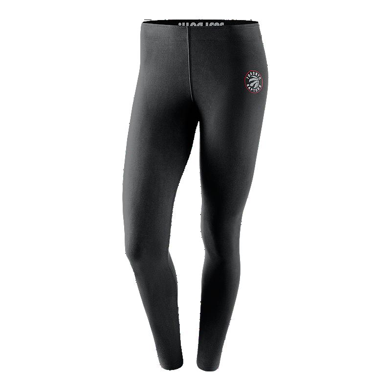 Toronto Raptors Nike Women s Leg-A-See Tights  1db69bedf9