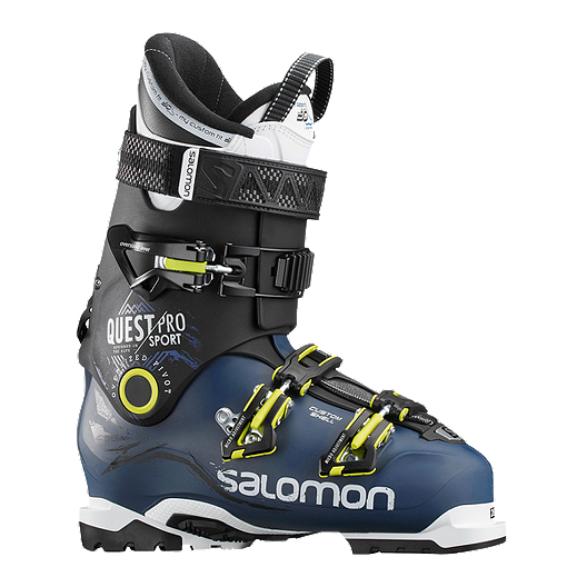 7990635eeb42 Salomon Quest Pro Sport 100 CS Men s Ski Boots 2017 18