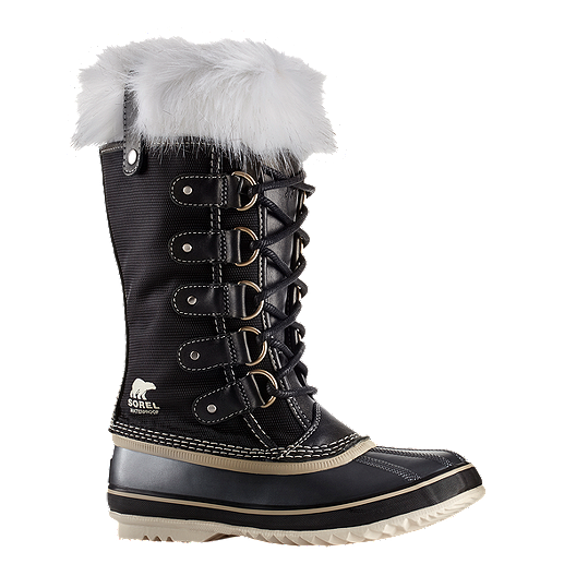 e88a5a70a68 Sorel Women s Joan of Arctic x Celebration Winter Boots - Black ...