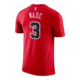 Chicago Bulls Dwayne Wade Player T Shirt