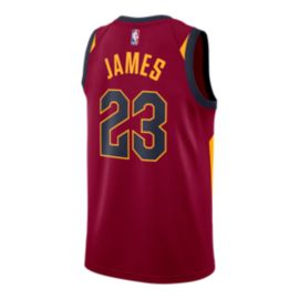 Cleveland Cavaliers LeBron James Swingman Icon Basketball Jersey