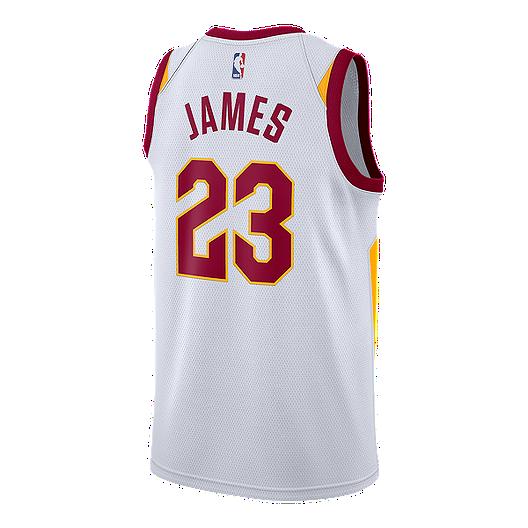 separation shoes 6be17 fc286 Cleveland Cavaliers LeBron James Swingman Association ...