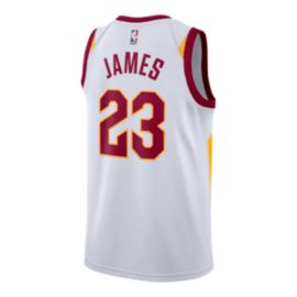 Cleveland Cavaliers LeBron James Swingman Association Basketball Jersey