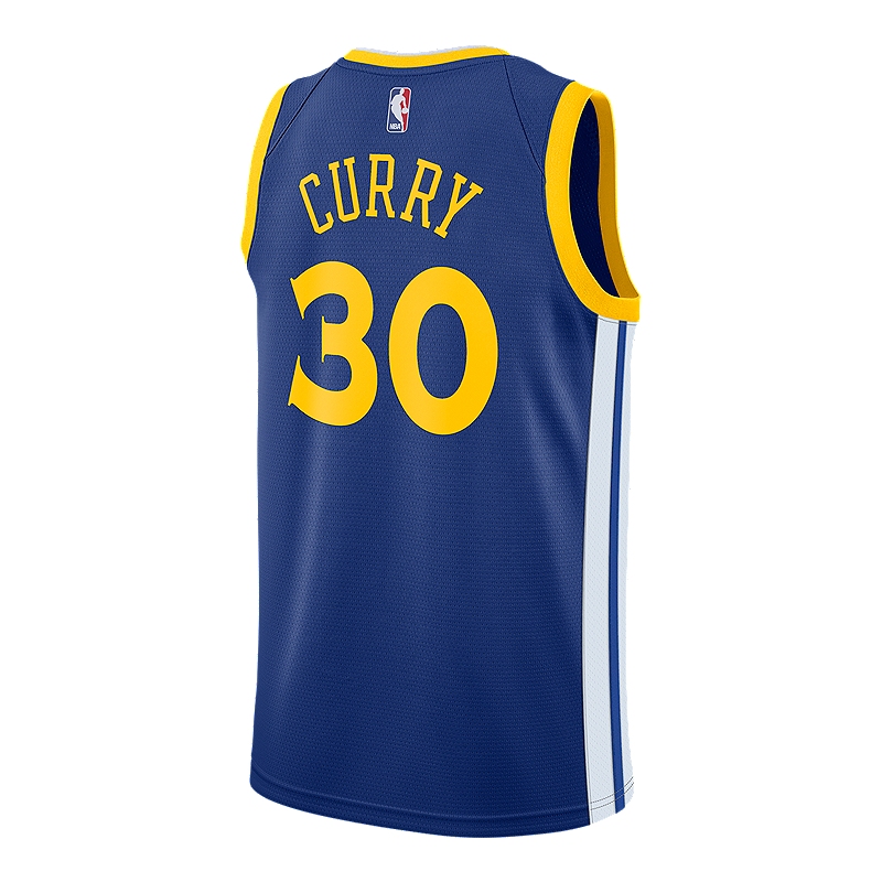 Golden State Warriors Stephen Curry Swingman Icon Basketball Jersey ... 8f26b507c