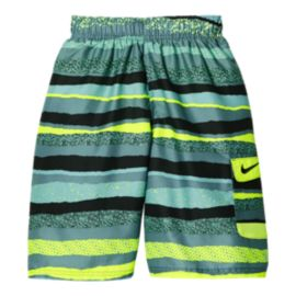 Nike Swim Boys' Tide 9 Inch Volley Swim Shorts