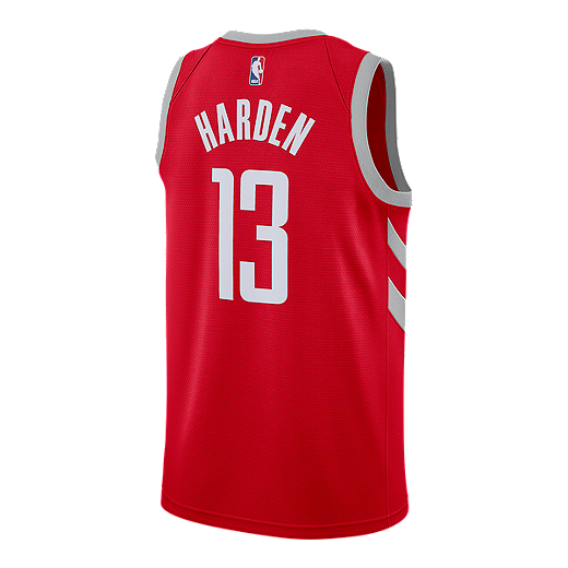 c7aea9e4a Houston Rockets James Harden Swingman Icon Basketball Jersey - RED