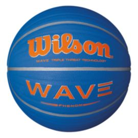 Wilson Wave Phenom Size 7 Basketball - Blue/Orange