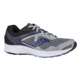 Saucony Men's Grid Exite 9 Running Shoes - Marbled Grey/Blue