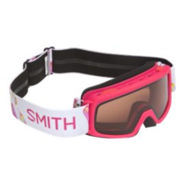 Smith Rascal Pink Popsicles Kids' Ski & Snowboard Goggles with RC36 Lens