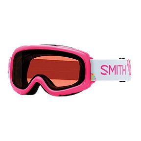 f27912ceee7f Smith Gambler Kids Ski   Snowboard Goggles 2017 18 - Pink Popsicles