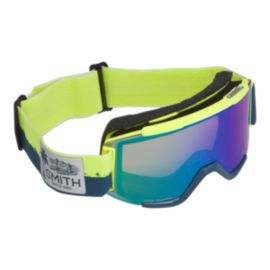 Smith Squad Acid Resin Ski & Snowboard Goggles with ChromaPop Everyday Green Mirror Lens