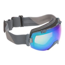 Smith I/OX Thunder Split Ski & Snowboard Goggles with Chromapop Sun Platinum Mirror Lens