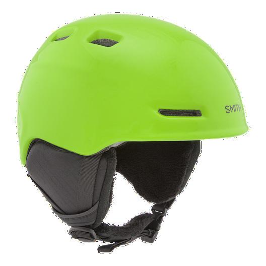 d26053a37bf6 Smith Zoom Reactor Green Kids  Ski   Snowboard Helmet