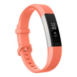Fitbit Alta HR Activity Tracker - Coral Large