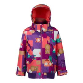 Burton Toddler Girls' Twist Bomber Winter Jacket