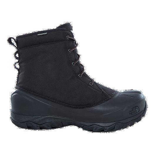 714fcccc717 The North Face Men's Tsumoru Winter Boots - Black/Grey