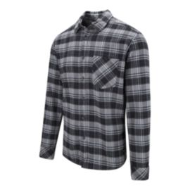Quiksilver Men's Snappy Flannel Shirt - Black
