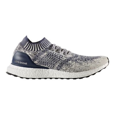 adidas Men\u0027s Ultra Boost Uncaged Running Shoes - White/Blue